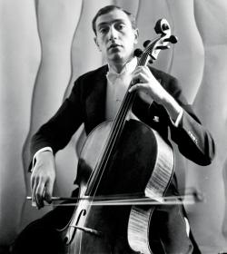 El cellista Gregor Piatigorsky en 1932