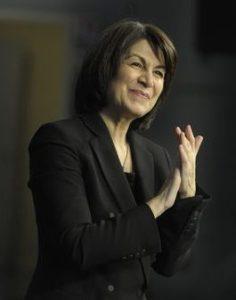 Claire Gibault, directora de orquesta