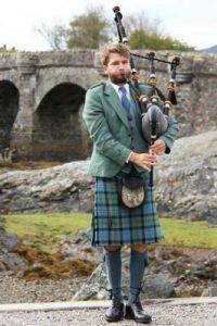 Intérprete de gaita escocesa