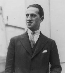 George Gershwin, ca. 1928